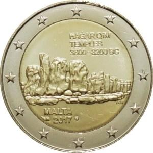 2 euromunt Hagar Qim Malta
