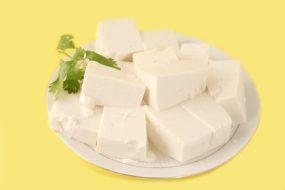 Tofu:  Ohne Cholesterin reich an Proteinen