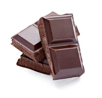 Schokolade, ein Freund von unserer Linie