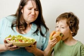 Wenn die ganze Familie Übergewichtig ist