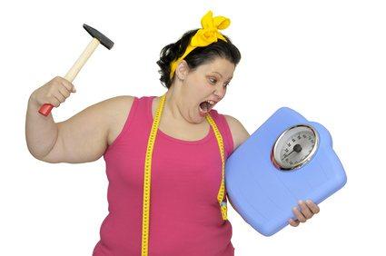 Akzeptieren, der erste Schritt um Gewicht zu verlieren!