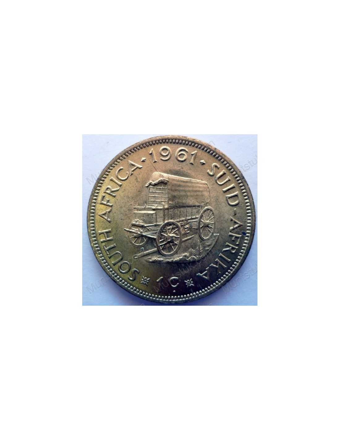 Coin From South Africa 1 Cent
