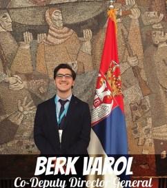 Berk Varol - AlphaMUN