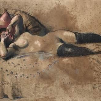 Miroslav Kraljević, Pariz, 1912., kombinirana tehnika, MUO 42620