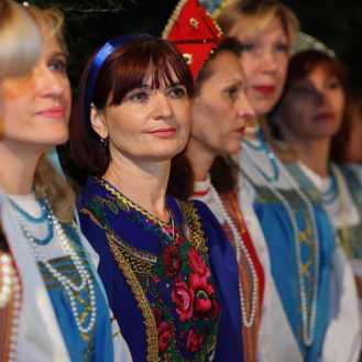 Članice zbora Rjabinuška