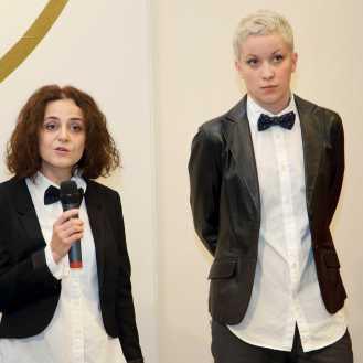 Iva Prosoli i Dunja Nekić, kustosice izložbe Rovinj Photodays 2016