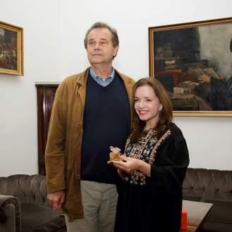 Miroslav Gašparović i Linda Pilkington
