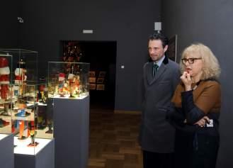 Vesna Ledić, autorica idejnog koncepta i voditeljica projekta Orašar i Nj. E. Andrew Stuart Dalgleish, snimio: Vedran Benović