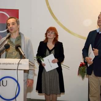 Matko Vekić, Vesna Kusin i Miroslav Gašparović
