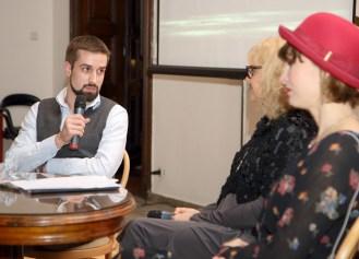 Leonard Jakovina, Vesna Ledić i Edina Plićanić (snimio: Vedran Benović)