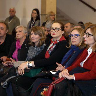Hrvoje Horvat, Marija Tonković, Nina Simončić, Alma Kulenović Mujić, Nataša Jovičić, Ana Lederer; Foto: Vedran Benović