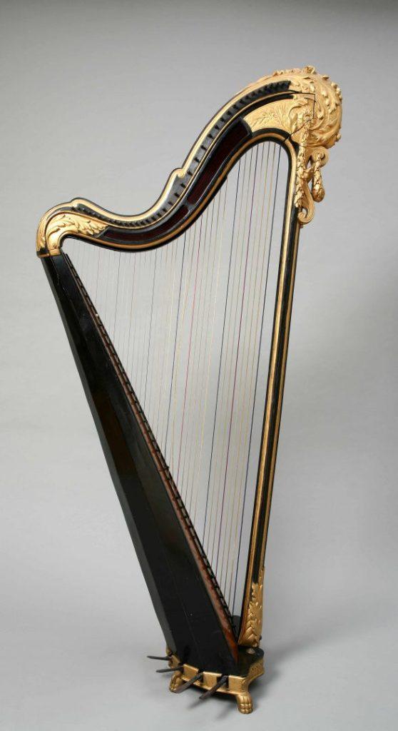 Okvirna harfa / MUO 12484 / oko 1870