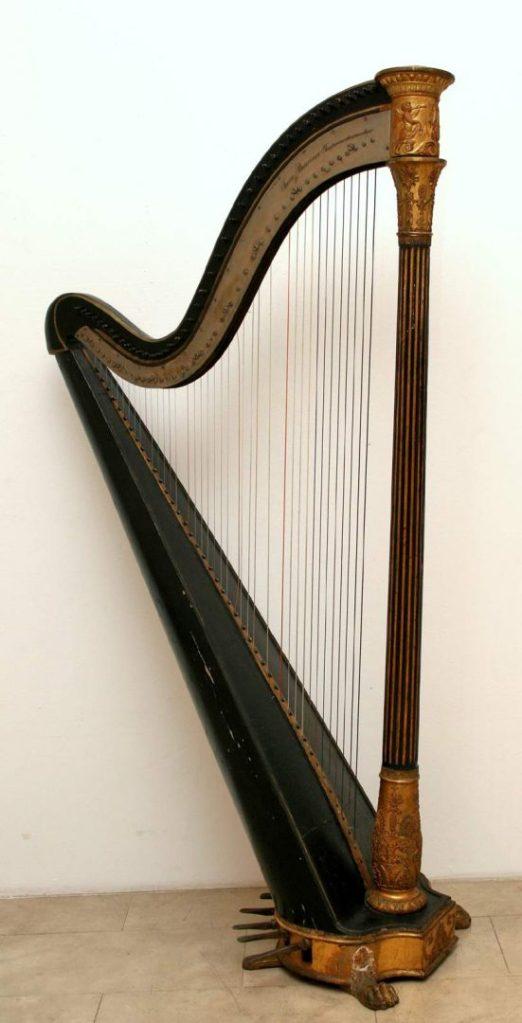 Okvirna harfa / MUO 12068 / početak 19. stoljeća