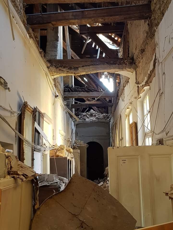 Muzej za umjetnosti obrt pretrpio teška oštećenja uslijed potresa