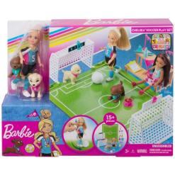Barbie Chelsea jalkapalloleikkisetti