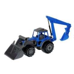 Plasto traktori kauhoilla
