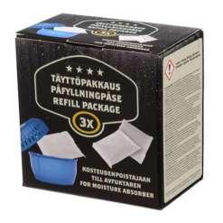 Kosteudenpoistaja täyttöpakkaus 3 x 450 g