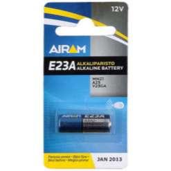 Paristo 12V 10 x 28 mm, alkali E23A Airam