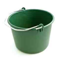 Laastiämpäri 17 L vihreä Ldpe extra tukeva