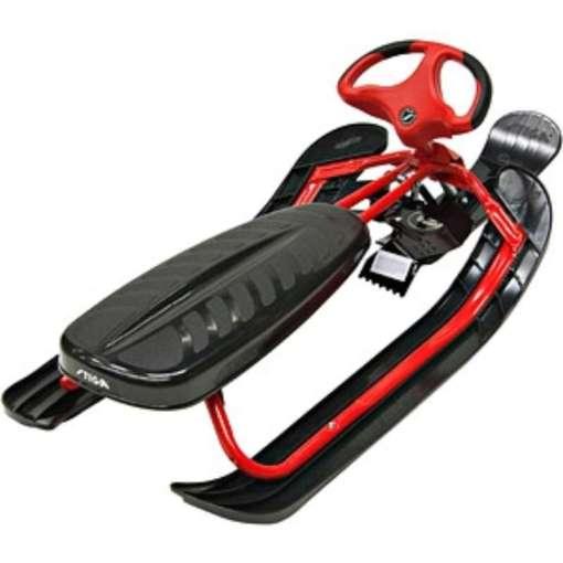 Rattikelkka Snowracer Red Curv Stiga