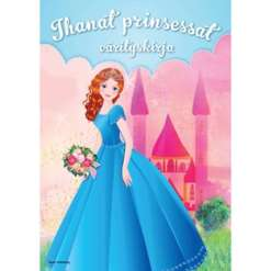 Värityskirja prinsessat
