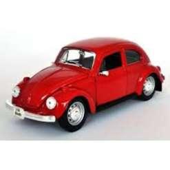 Volkswagen Beetle 1:24, punainen