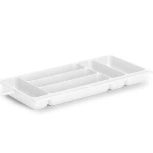 Aterinlaatikko 230 x 470 x 50 mm valkoinen