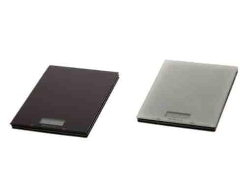 Vaaka digitaalinen, 0-5 kg musta / valkoinen