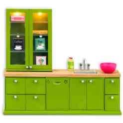 Lundby keittiö nukkekotiin, vihreä