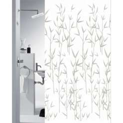 Suihkuverho Bambus 180 x 200 cm