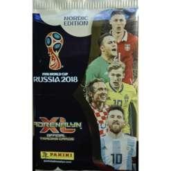 Fifa jalkapallokortti Russia 2018