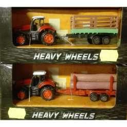 Traktori ja peräkärry 16 cm