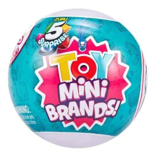 5 Surprise Mini Toys yllätyspallo