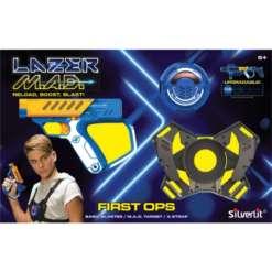 Lazermad First Ops pyssy ja maalitaulu