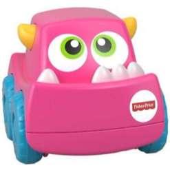 Fisher-Price Monster auto pinkki