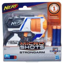 Nerf Micro Shots Strongarm pehmonuoliase