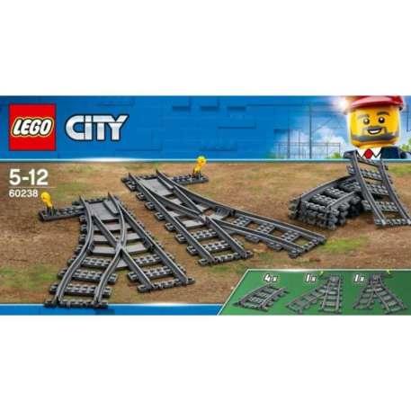 Lego City 60238 Vaihtoraiteet junarataan