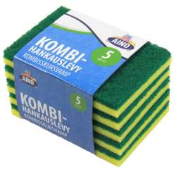 Kombi-hankauslevy 5 kpl