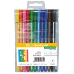 Kirjoituskynät Grasp 12 väriä 0,4 mm
