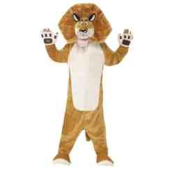 Lasten naamiaisasu Alex-leijona