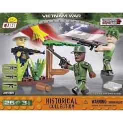Cobi sotilaat 3 kpl Vietnam 2038