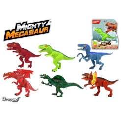 Dino Mighty Megasaur karjuva 12 cm erilaisia