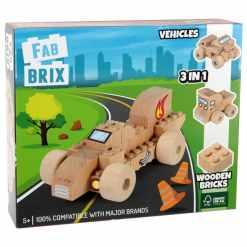 Fabbrix rakennuspalikat auto