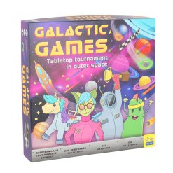 Galactic Games lautapeli Peliko