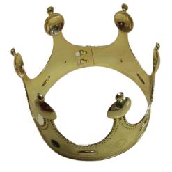 Lasten naamiaisasu Kuninkaan kruunu kultainen