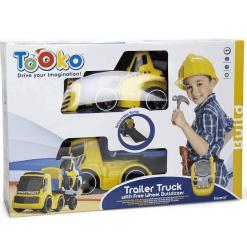 Kuorma-auto I/R ja kuormaaja Tooko