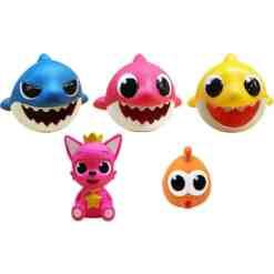Baby Shark -kylpylelu erilaisia