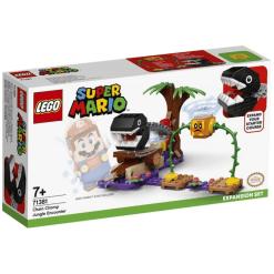 Lego Super Mario 71381 Chain Chompin viidakkoyhteenotto laajennussarja