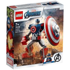 Lego Superheroes 76168 Captain America -robottihaarniska
