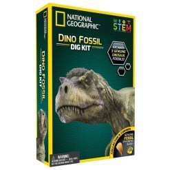 National Geographic dino fossiili